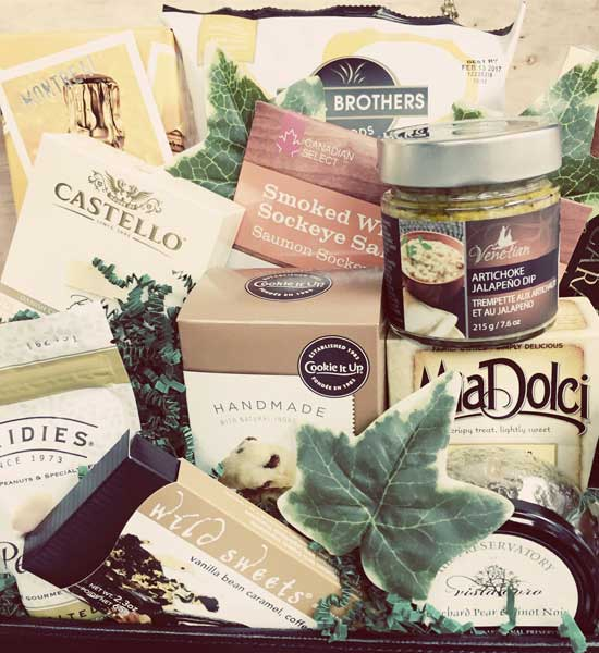 Baby Gift Baskets Vancouver Canada : Vancouvergiftbaskets local fare curated with
