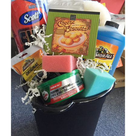 Car Wash Caddy Vancouver Gift Basket