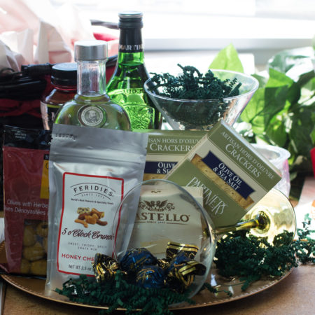 Martini Mixin Vancouver Gift Basket