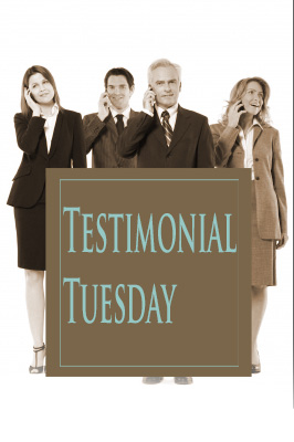 Testimonial Tuesday on Gift Basket Customizing
