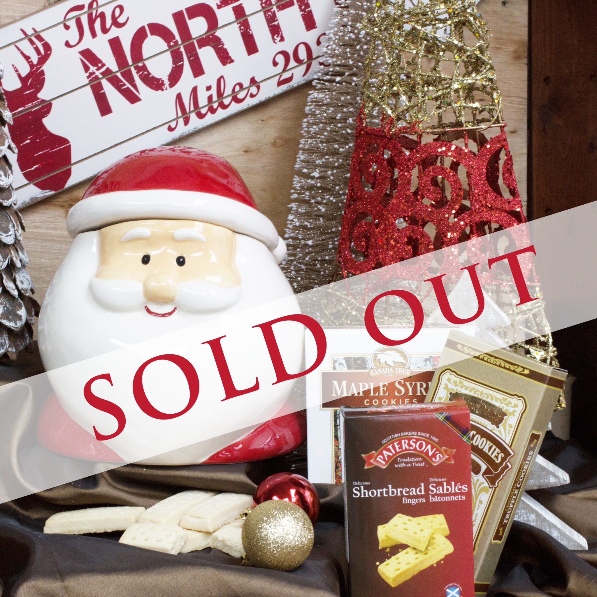 Santa's Cookie Jar Wishes SOLD OUT