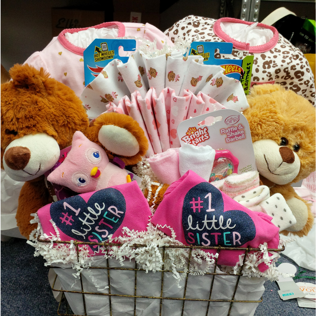 Baby Gift Baskets Vancouver : Twice the fun twins gift basket vancouvergiftbaskets