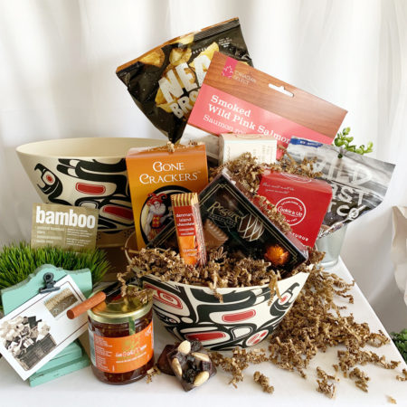 BC's Native Pleasures Gift Basket from Vancouver Gift Baskets