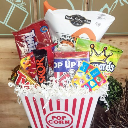 Movie Night Vancouver Gift Baskets