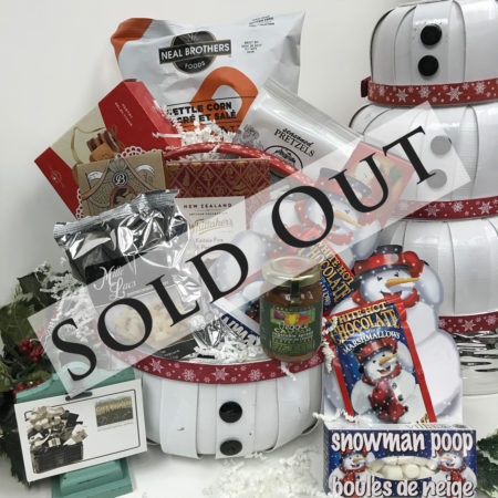 Sold Out Frostys Feast Gift Basket