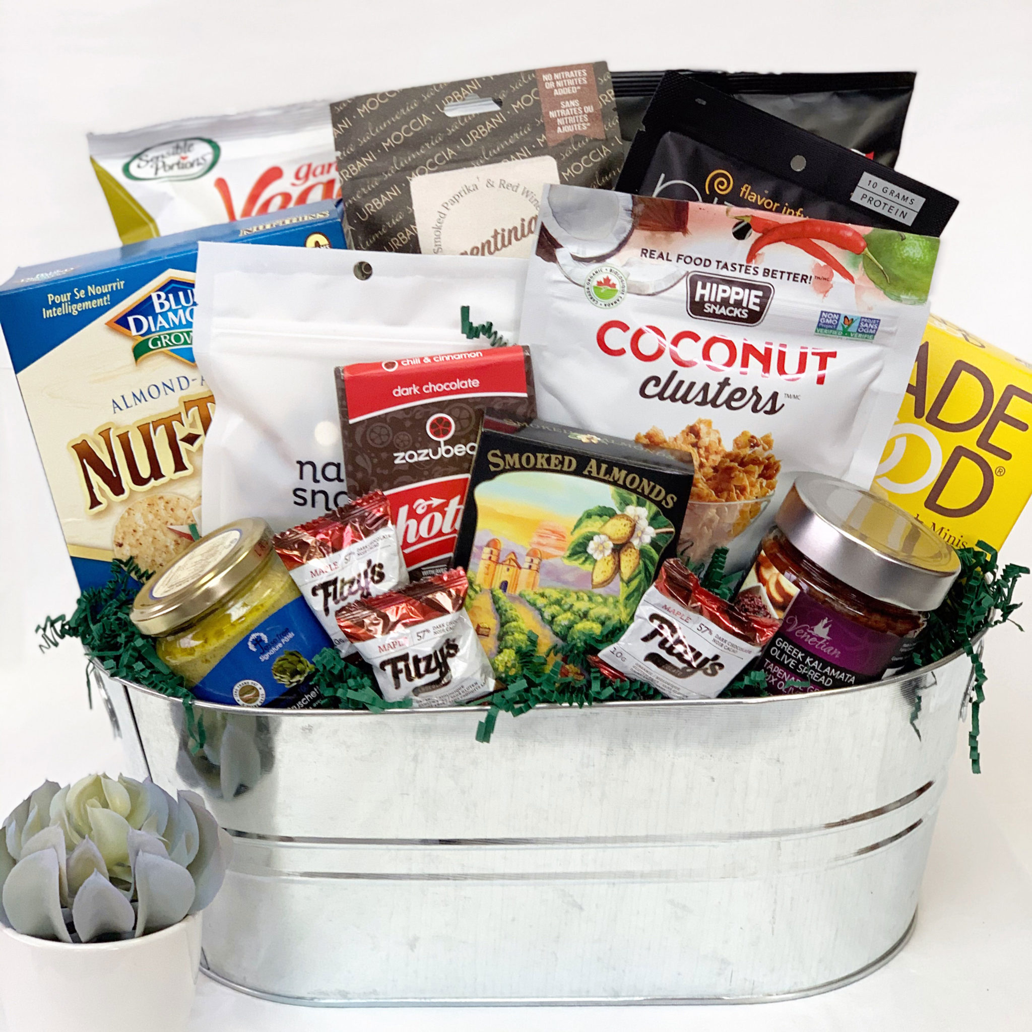 Gluten Free Yummy Gift Basket by Vancouver Gift Baskets