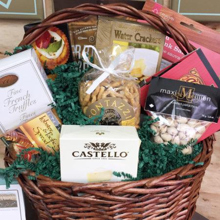 Gourmet Vintners Vancouver Gift Basket