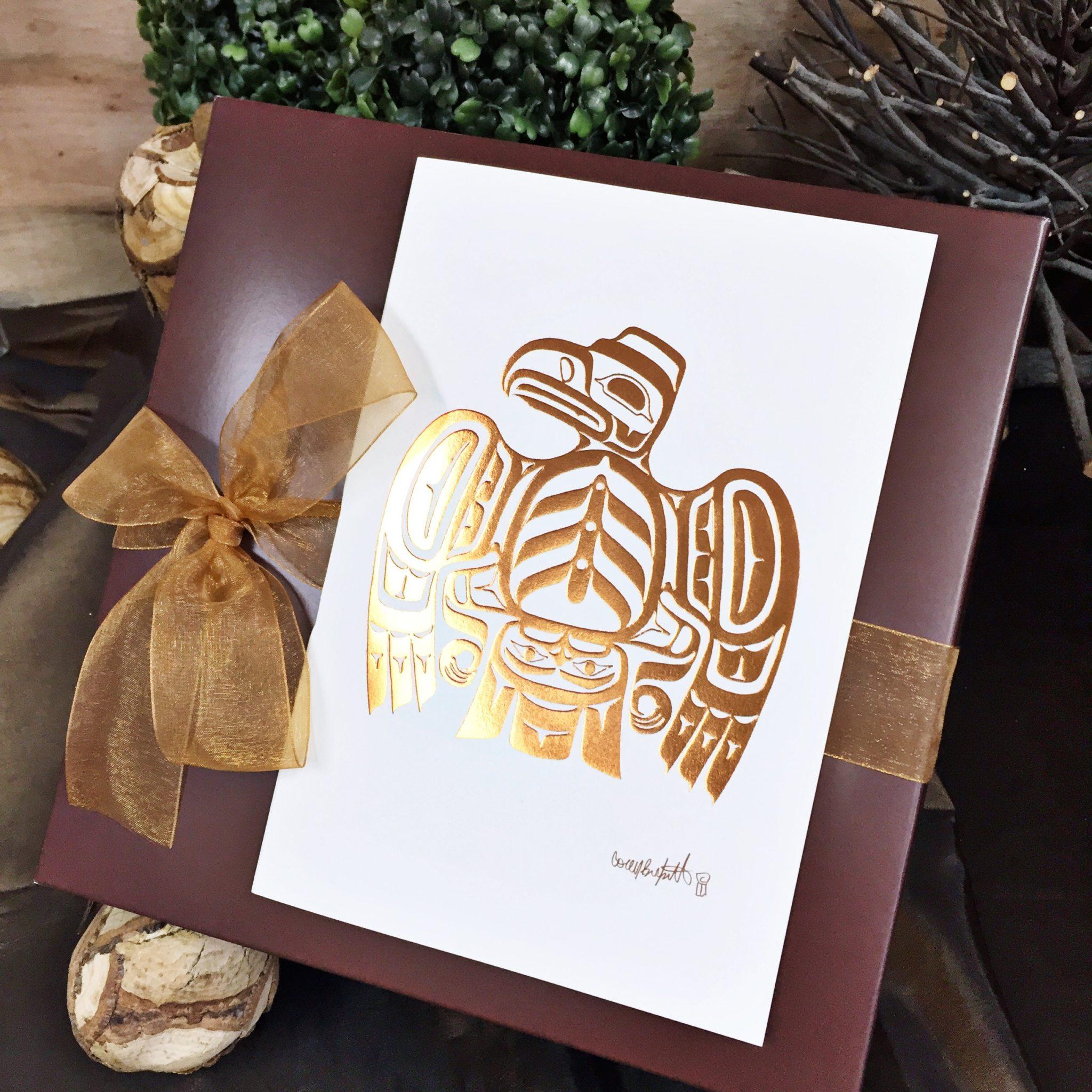 Vancouver Gift Basket Native Gift Box
