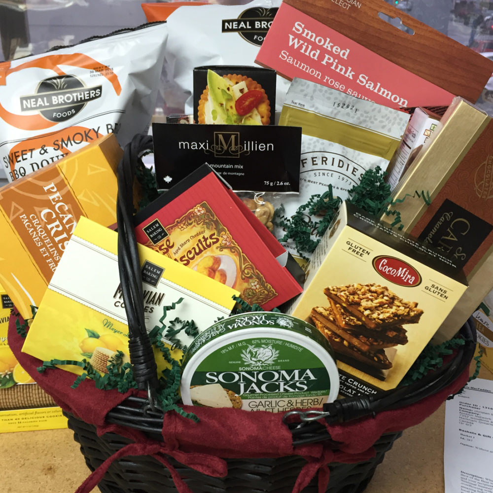 Best of Wishes Vancouver Gift Basket