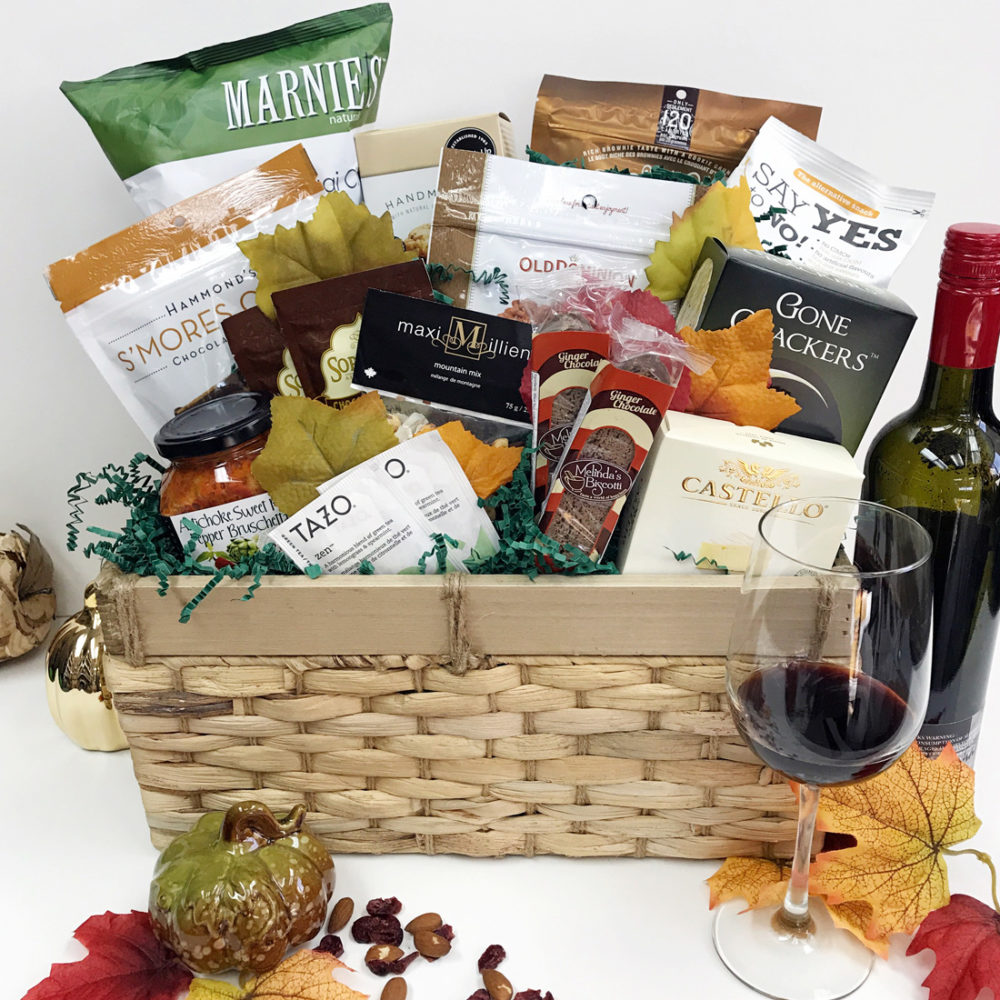 Fallen Leaves - Vancouver Gift Baskets