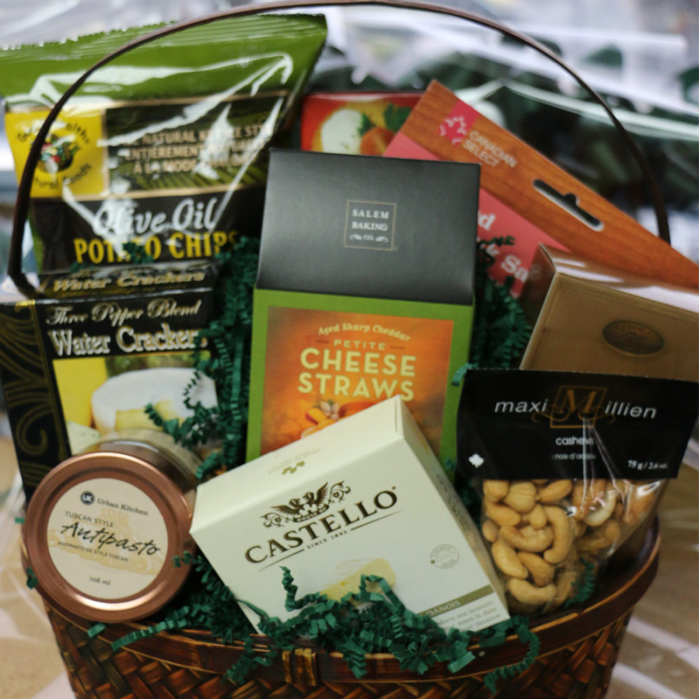 Just Because Vancouver Gift Basket
