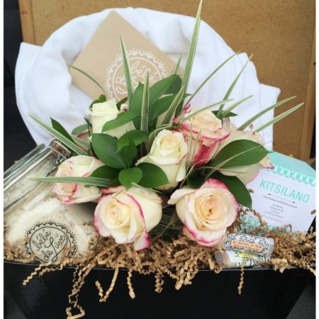 Pampered Petals Vancouver Gift Baskets for her