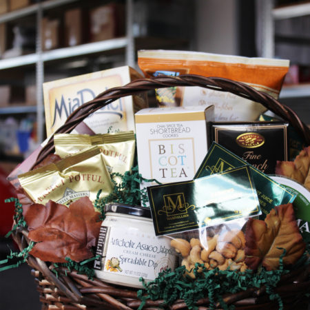 Snack Time Vancouver Gift Basket