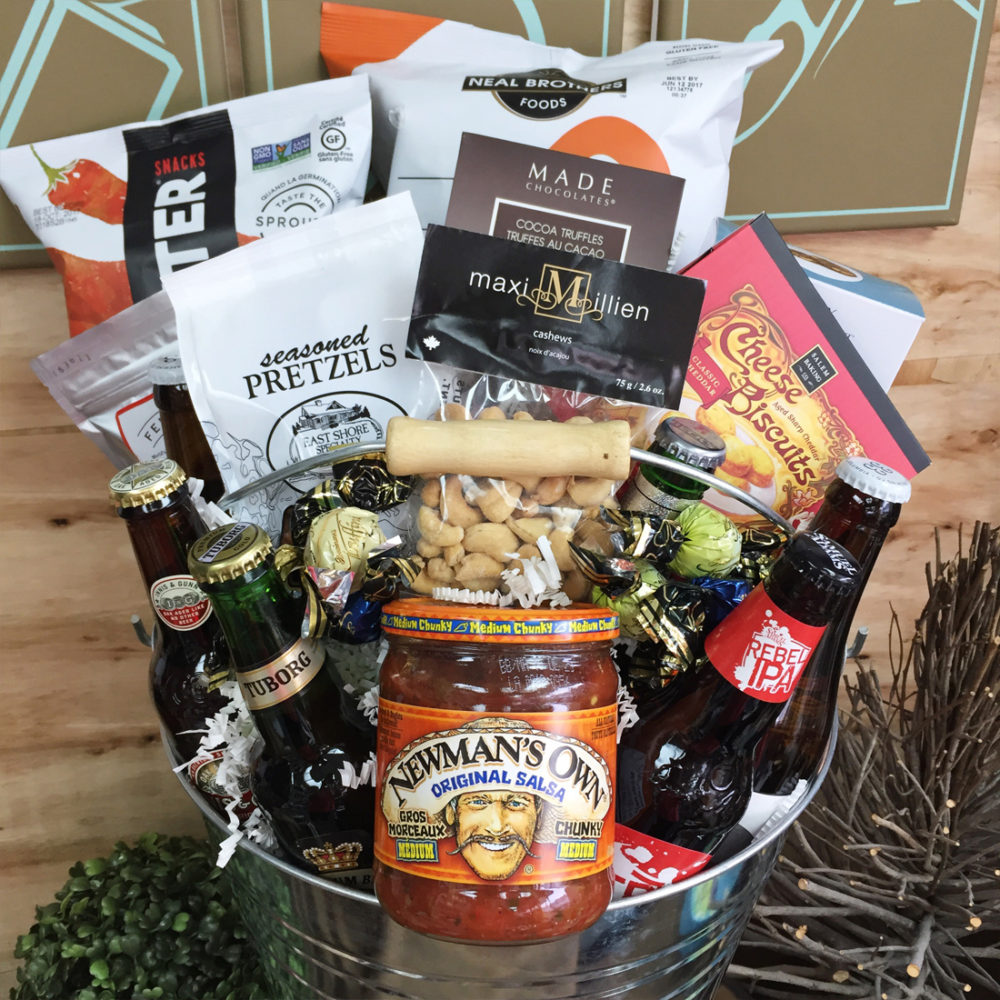 Trip Around the World Beer Vancouver Gift Basket