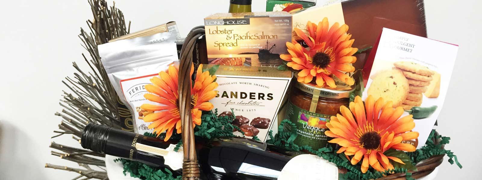 Sanders Gift Basket